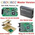 ECU Programmer KTAG V2 13 V2 32 KESS V2 V4 036 FG TECH Galletto 4 V54