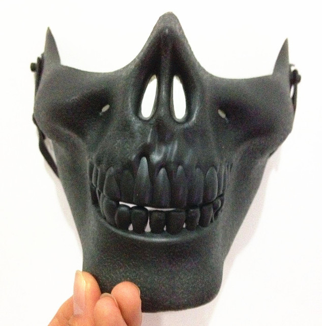 Skull Mask Vendetta Masquerade Party Mask Halloween Mask Party Half Face Halloween Horror Mask