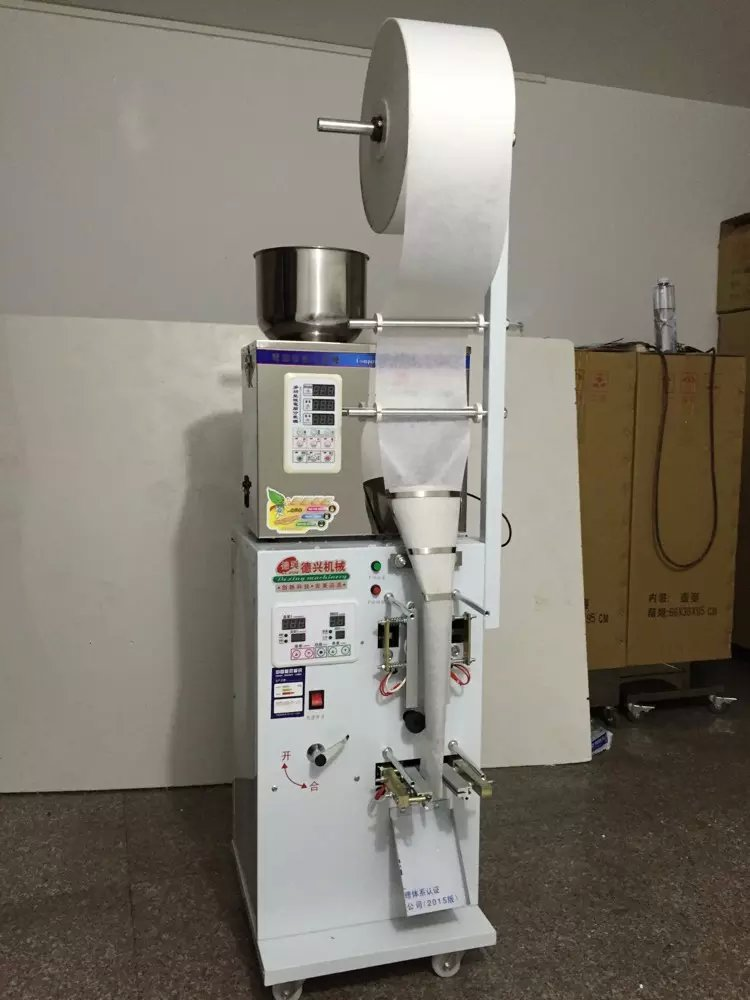 1.5-25g Full Automatic Foil Pouch Weight And Filling Packaging Machine(China (Mainland))