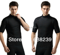 Big Size Men s Sharkskin Swimwear Fastskin Shark Skin Rash Guard Diving Suit for Snorkeling Swimming