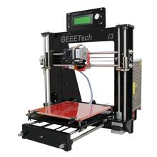 Geeetech Newest Reprap Prusa I3 3D Printer DIY Kit Machine Acrylic Frame High Precision Impressora LCD
