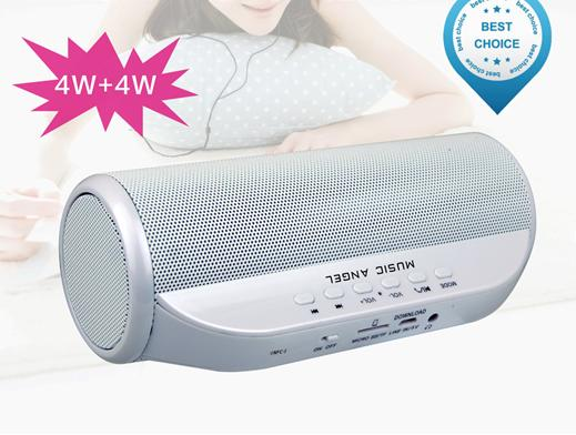 Brand Original Music Angel JH-MD13BT Enhenced Bluetooth 4.0 NFC/TF Card/FM Radio/Download Speaker Subwoofer Soundbox Speakers(China (Mainland))