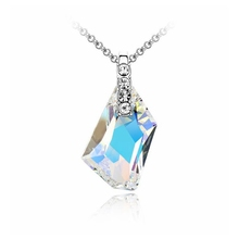 High Quality Crystal Pendant Necklace for Women Fashion Design Anniversary Birthday Party Gift Crystals from Swarovski Elements(China (Mainland))