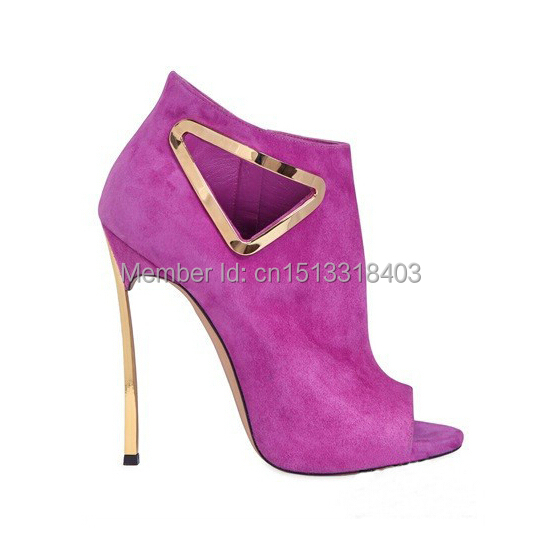 Fashion Brand Women High Heels Newly Peep Toe Genuine Leather Pumps Sexy Shoes Sandals - Super VIP shoe store
