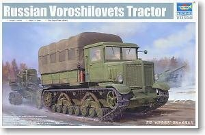 Trumpeter 01573 1/35 Russian Voroshilovets tractor