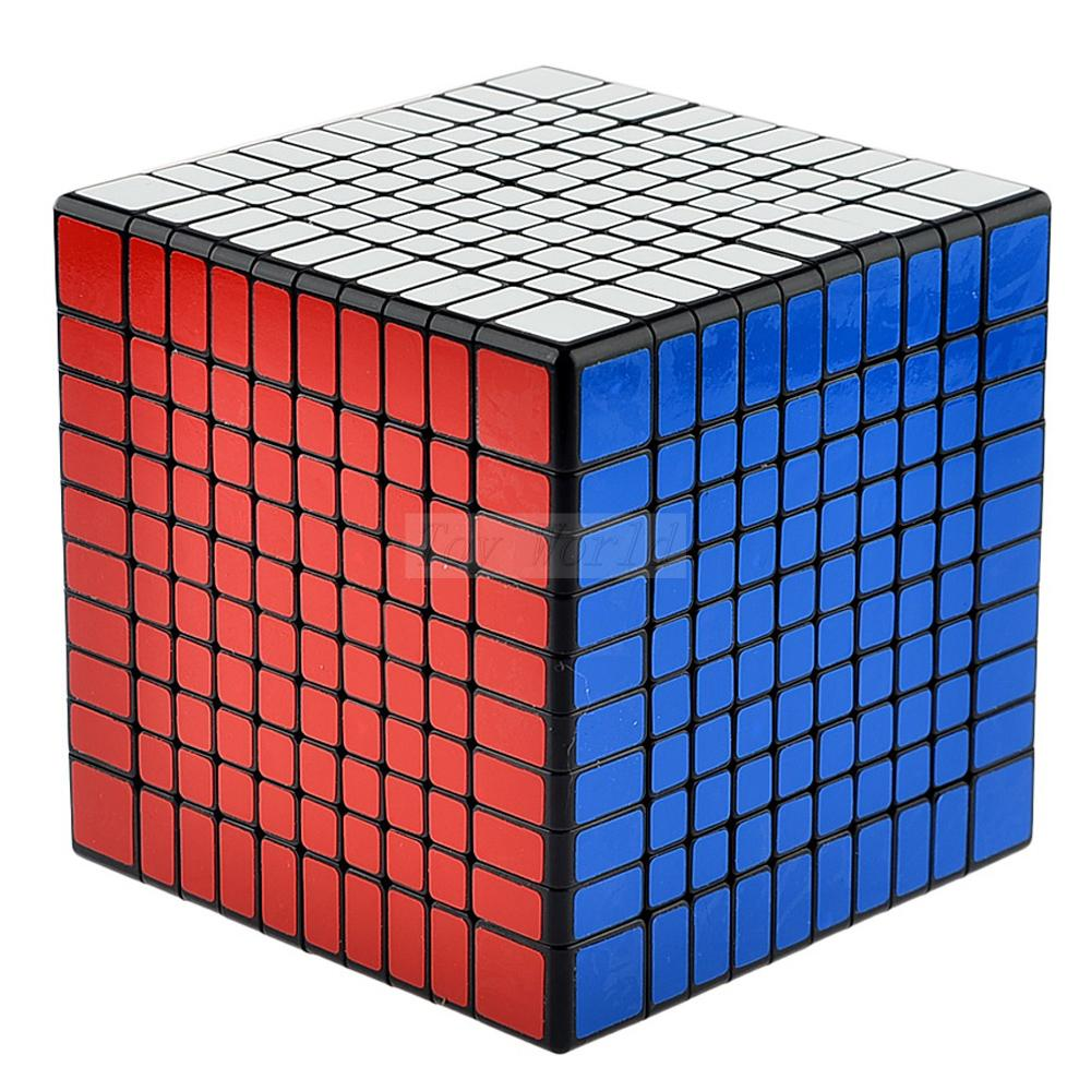 ShengShou 102mm 10x10x10 Magic Cube 10*10 Twist Puzzle Educational Wholesale Cubo Magico Metallised Juguetes Educativo game Toys(China (Mainland))
