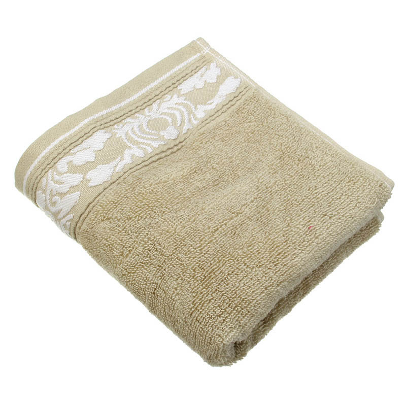 34x74cm Cotton Bath Towel Plain Colored Embossed Twistless Yarn Towel Compressed Water Imbibition Face Hand Towel High Quality(China (Mainland))