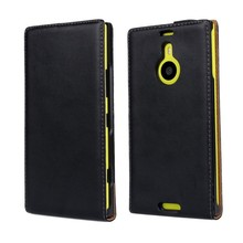 Luxury Genuine Real Leather Case Flip Cover Mobile Phone Accessories Bag Retro Vertical For Nokia LUMIA 1520 N1520 PS