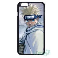 Fit for iPhone 4 4s 5 5s 5c se 6 6s 7 plus ipod touch 4/5/6 back skins cellphone case cover Anime Uzumaki Naruto Kyuubi Fox