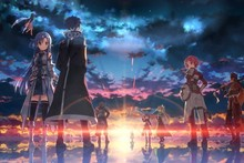Sword Art Online 12—2016 Hot sale Japanese Anime Home Decor Horizontal Version Scroll Paintings Art Canvas Wall Picture