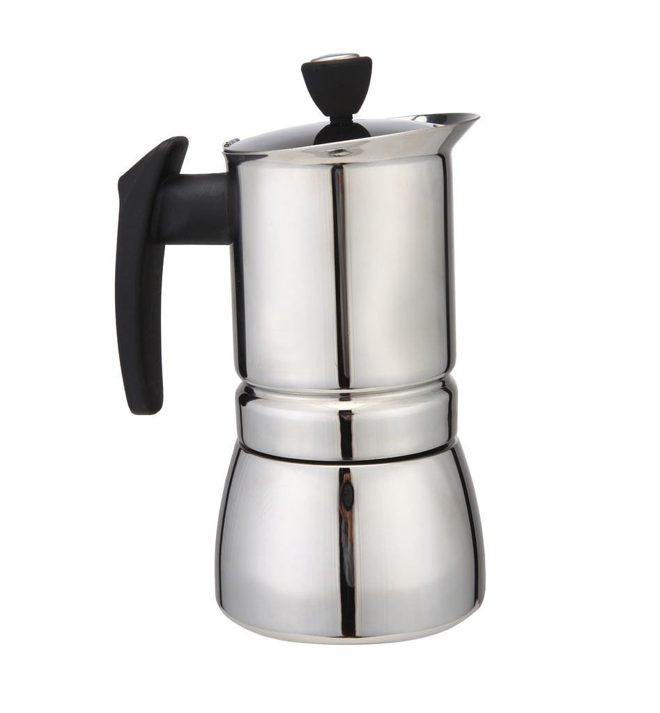 Stovetop Coffee Maker Home : 2016 New 300 ML, 6 Cup Stainless Steel Moka Stovetop Espresso Coffee Maker Latte Percolator ...