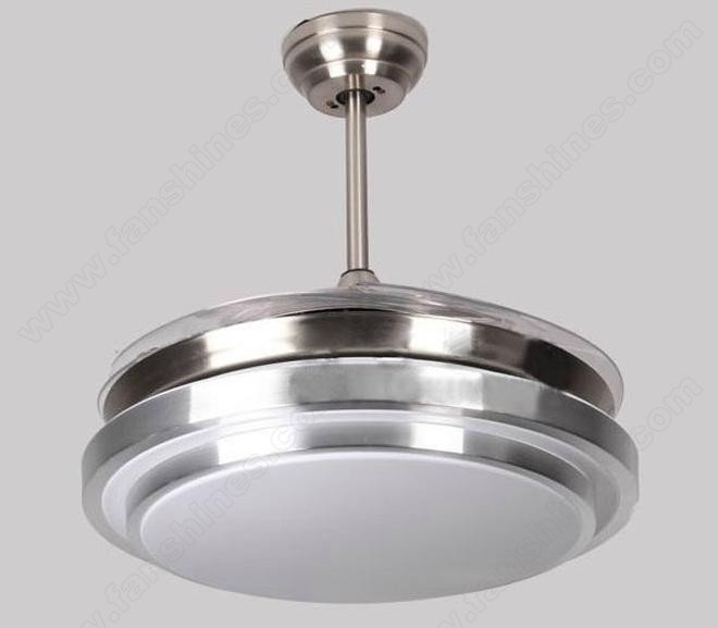 42 inch retractable blade ceiling fan automatic closure contraction ceiling fan centrifugal - Retractable blade ceiling fan ...