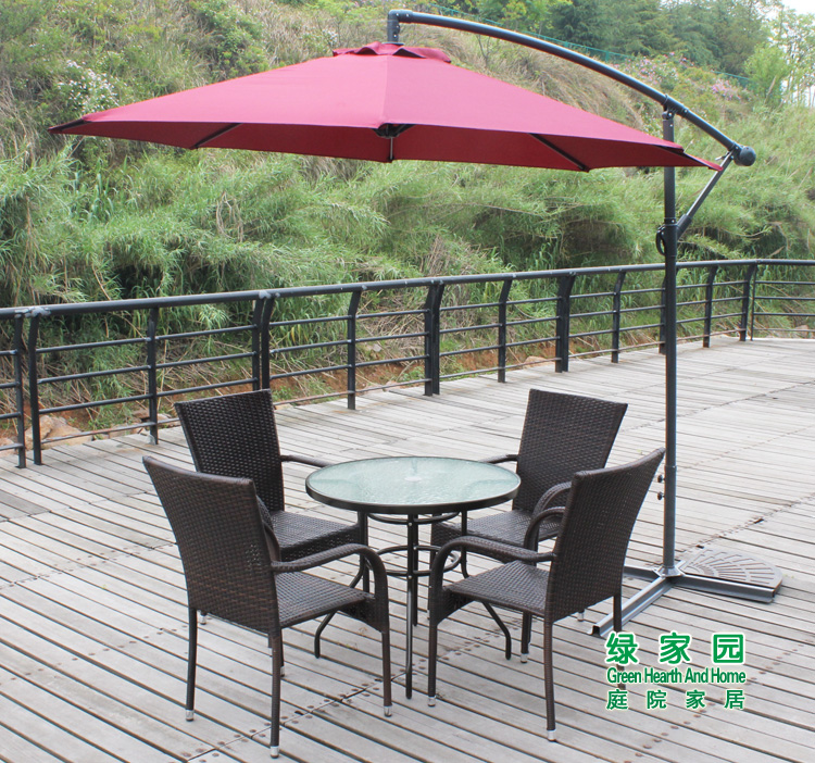 Stars 3 meters large outdoor umbrella beach booth side patio banana selling<br><br>Aliexpress