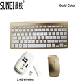 Fashionable Design 2 4G Ultra Slim Wireless Keyboard and Mouse Combo New Computer Accesories For Apple