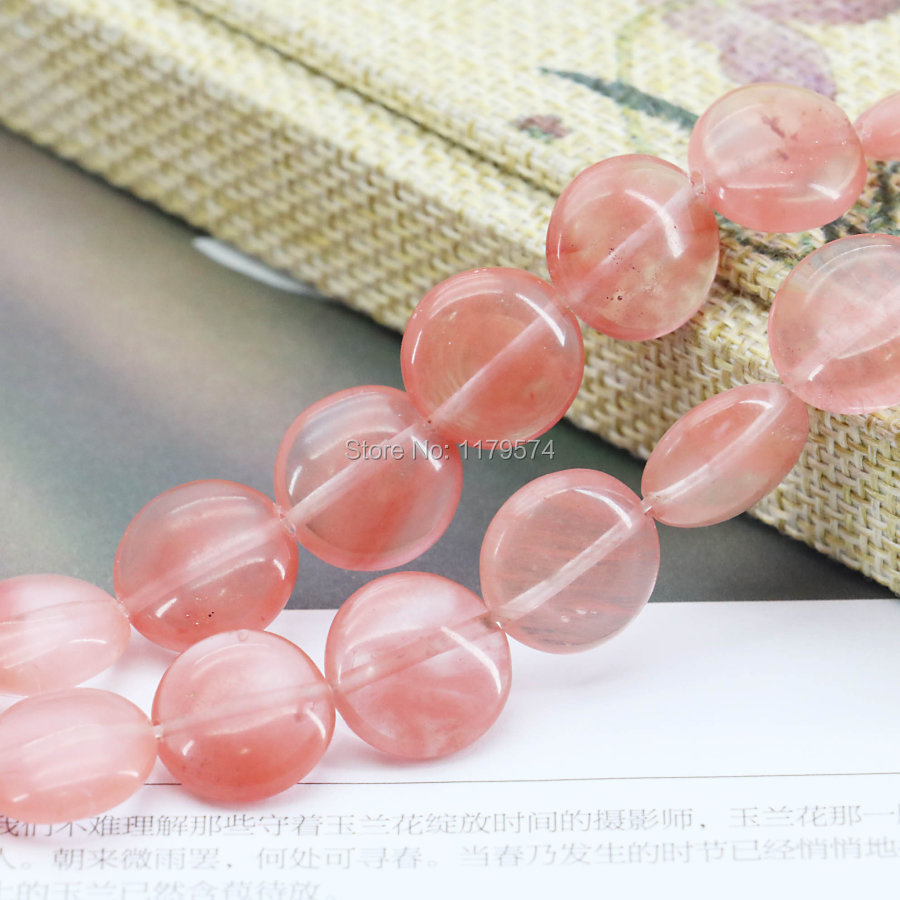 14mm Multicolor Watermelon Tourmaline Accessories Crafts Loose DIY Round Beads Jasper Jade Stone Jewelry Making Design 15inch(China (Mainland))