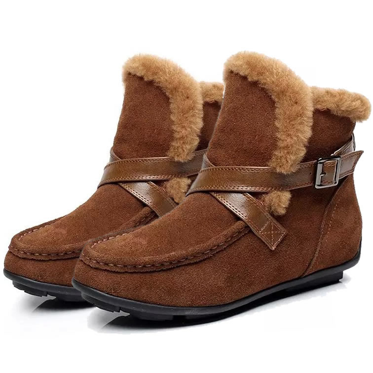 Winter Real Wool Fur Fashion Boots Shoes,Snow Boots,Height Increasing 3cm,Suede 3-styles,Size 35-39,Womens Shoes<br><br>Aliexpress