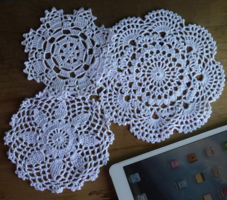 Aliexpress Com Acheter Fait 192 L Ordre Crochet Napperons