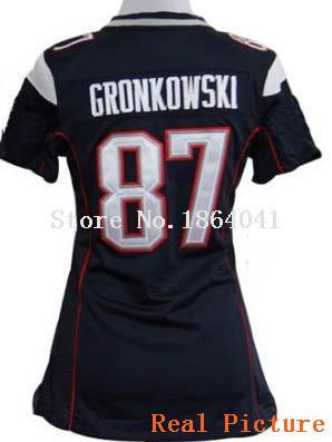 American Football Women Jersey #87 Rob Gronkowski Jersey,Women Football Jersey,Best quality,Authentic Jersey,Size S--XXL