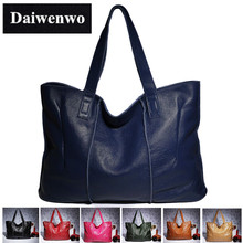 J22 100% Genuine Leather Bag Large Women Leather Handbags Famous Brand Women Messenger Bags Big Ladies Shoulder Bag Bolsos Mujer(China (Mainland))