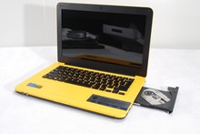 Cheap price Laptop computer with CD DVD-RW engraver 13.3inch display Intel D2500 4GB Ram 500GB HDD with webcam WIFI