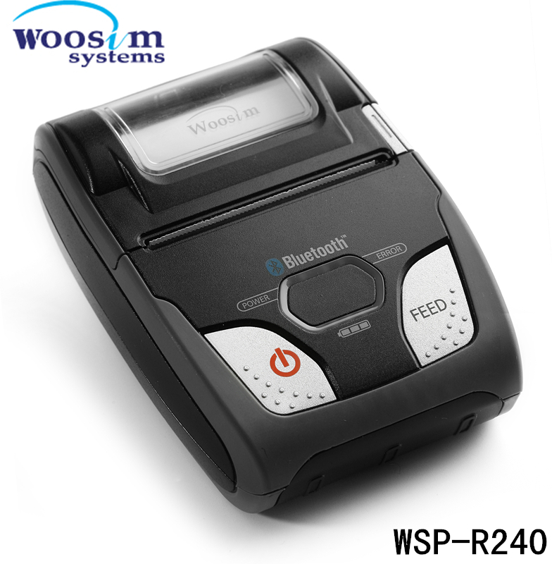 58mm Woosim android mobile printer WSP-R240 for Android mobile(China (Mainland))