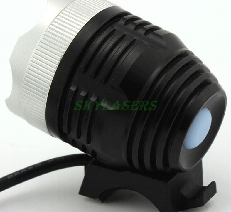 2X bike light CREE XM-L T6 1800 Lumens LED Headlamp Headlight Rechargeable Lamp Light (4x 18650 battery pack Charger inside)(China (Mainland))