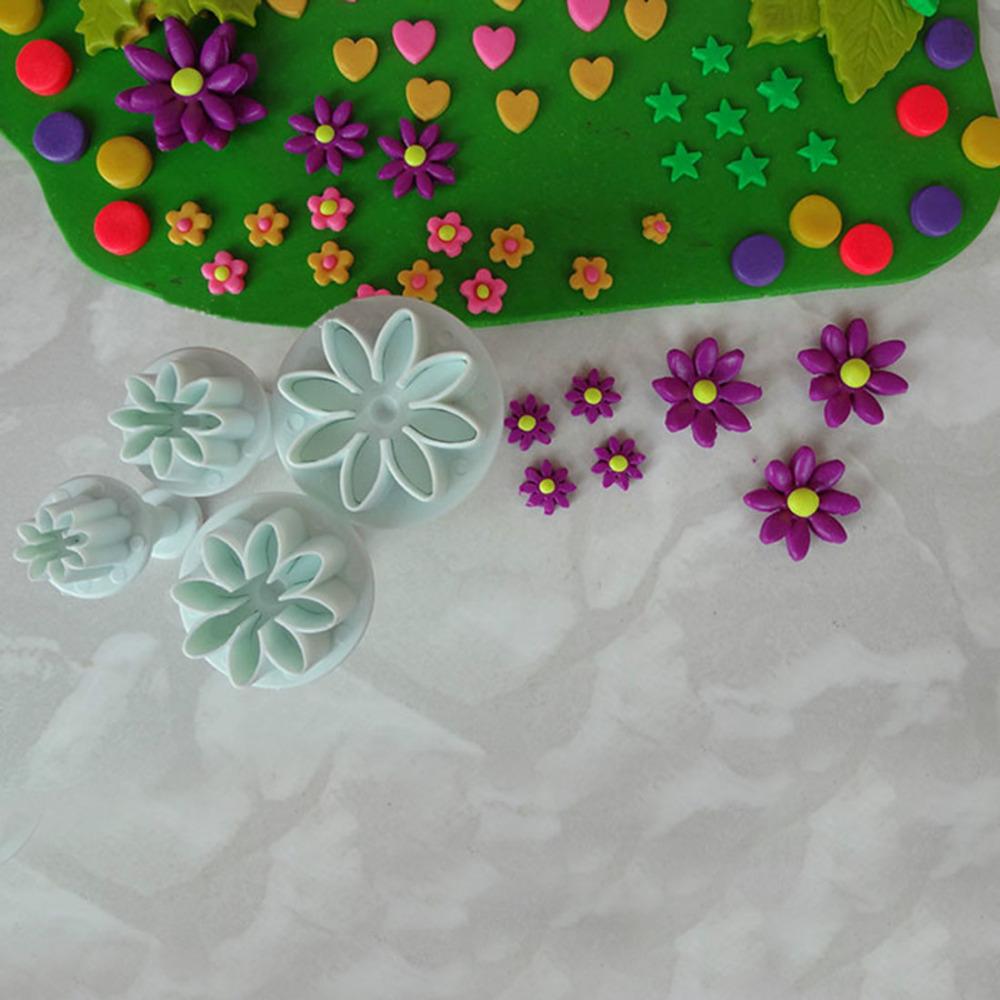 Daisy Kitchen Decor: New Daisy Flower Cookie Sunflower Plunger Cake Decorating