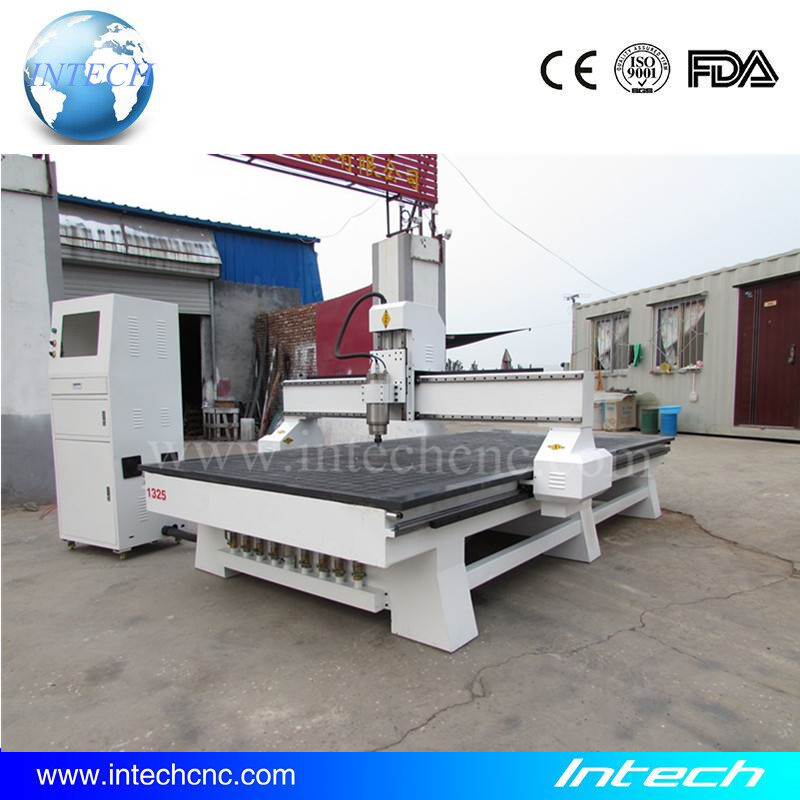 Chinese cnc router machine 1300x2500 vacuum table Intech cnc pcb machine(China (Mainland))
