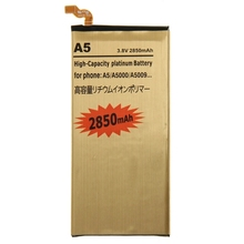 2850mAh High Capacity Rechargeable Li-Polymer Mobile Phone Battery for Samsung Galaxy A5 / A500
