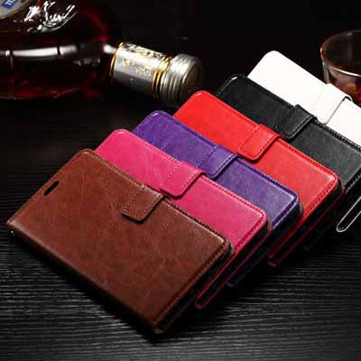 10pcs/lot Luxury Paint Edge Crazy Horse Pattern PU Leather Case Back Cover For Samsung Galaxy Note 5 Edge With Photo Frame