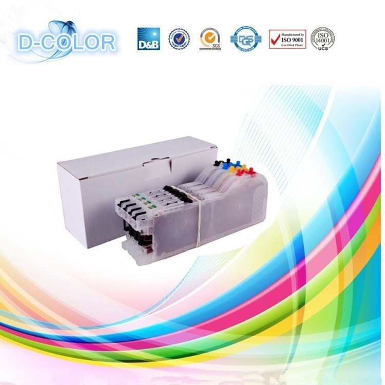 Free shipping ! for brother MFC-J470DW ink cartridge LC103 with auto reset chip(China (Mainland))