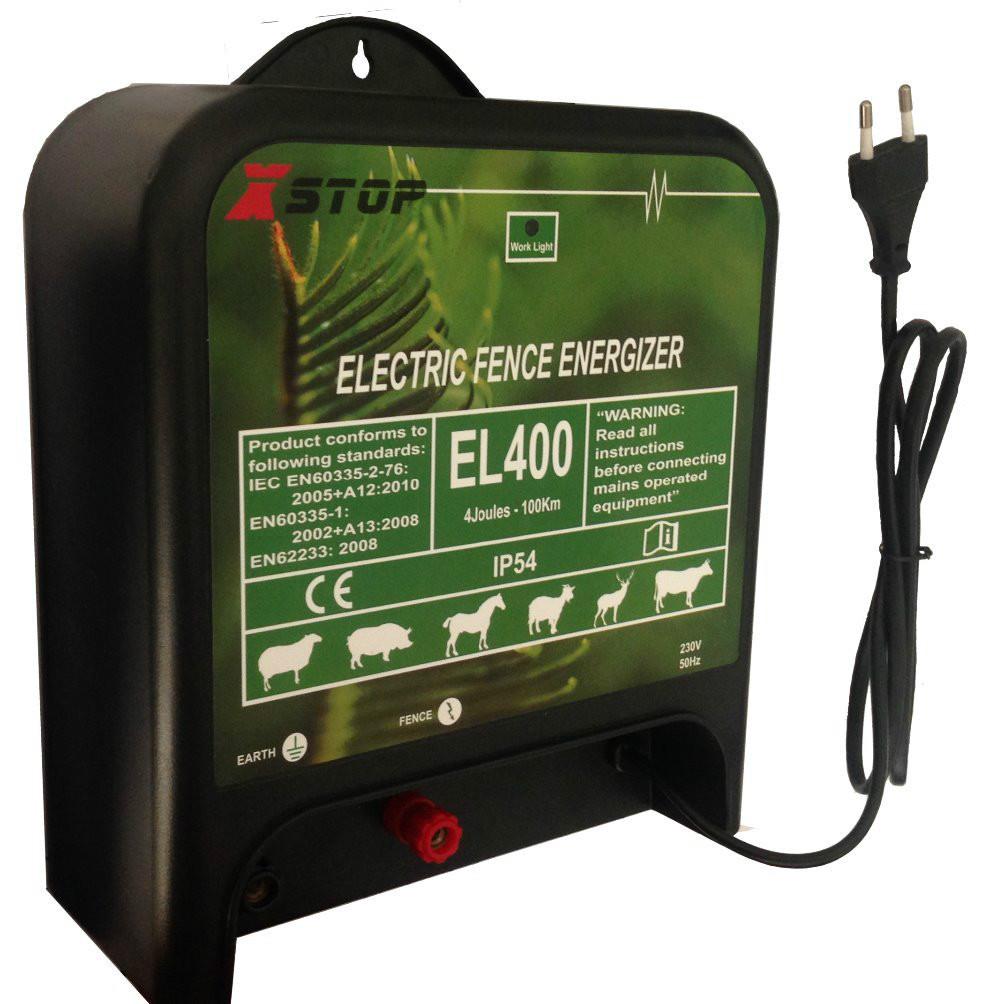 AC 230V ELECTRONIC FENCE ENERGIZER 4 JOULES(China (Mainland))