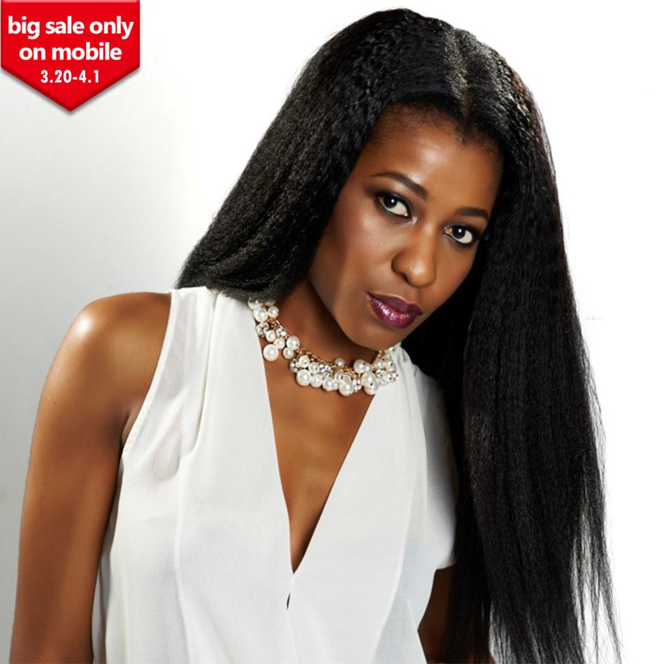 6A Brazilian Silk Top Full Lace Human Hair Wigs For Black Women 120% 4x4 Silk Top Brazilian Kinky Straight Lace Frontal Wigs<br><br>Aliexpress