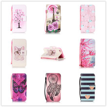 """Buy Fashion Colorful Painting Flip PU Leather Cover Apple iPhone 6 6S 6G 4.7"""" Wallet Card Slot Stand Function Phone Case for $3.49 in AliExpress store"""