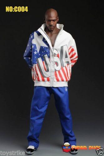 Custom 1/6 Dream Team Sports Jacket Suit Set For Enterbay Jordan NEW(China (Mainland))
