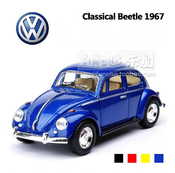 New High Simulation Model Toys Volkswagen Beetle 1967 Retro Classic Car Models 1:32 Alloy Car Model Excellent Christmas Gifts(China (Mainland))