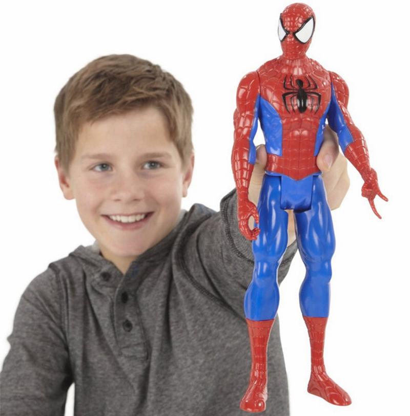Superhero Toys For Boys : Genuine spiderman d doll model titan hero large marvel