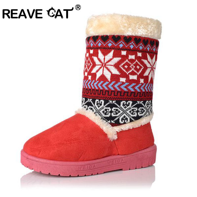 Winter Shoes High Quality New Products Add Plush Snow Boots Flock Round Toe Women Boots Warm Comfortable national style(China (Mainland))