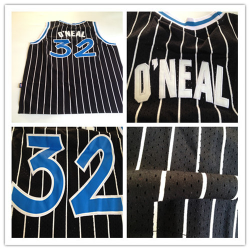 Youth 32 Shaquille O'Neal jersey,Black Throwback Stitched youth basketball jersey,Best quality,Embroidery Logos,Authentic jersey(China (Mainland))