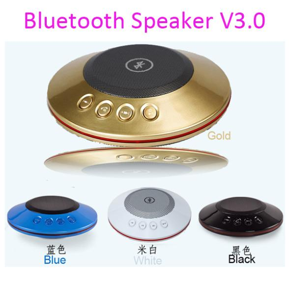 2015 New Metal Steel UFO Portable outdoor wireless Bluetooth Speaker Free FM Radio Support SD Card iPhone - B&Y Digital Technology Co.,Ltd store