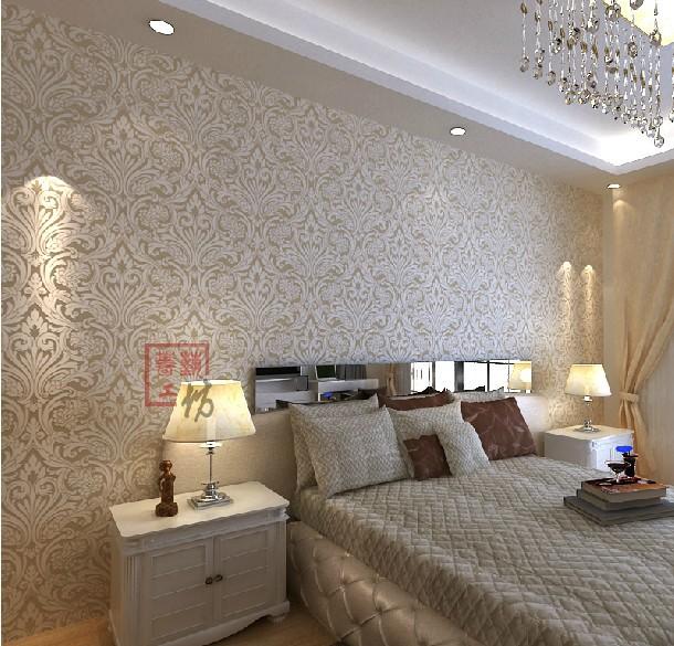 slaapkamer » luxe behang slaapkamer - inspirerende foto's en, Deco ideeën