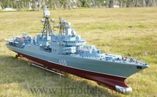 """1/100 RC Model boat  Russia, """"brave-II""""  guided missile destroyer/Simulation of an aircraft carrier/Electric remote control boat(China (Mainland))"""