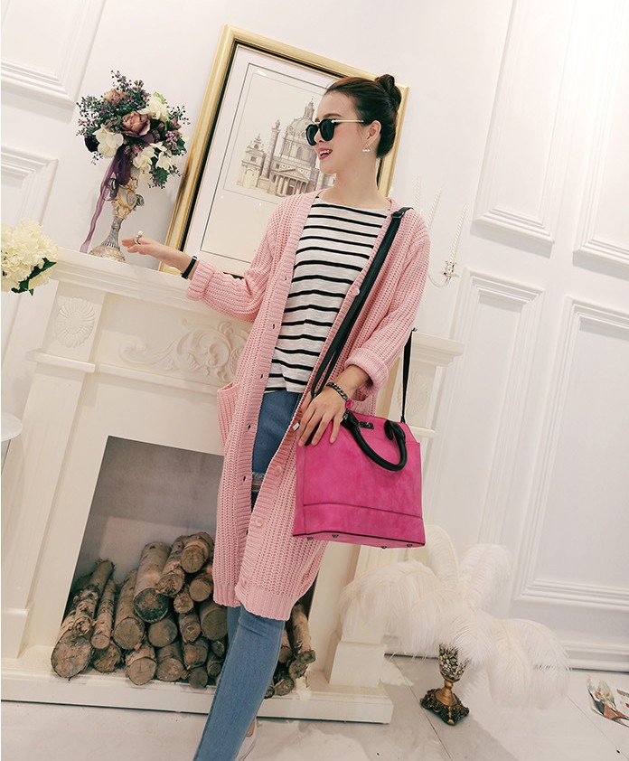 Korea Style Fashion Handbags Women Temperament  Shoulder Messenger