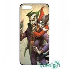 Fit for Samsung Galaxy mini S3/4/5/6/7 edge plus+ Note2/3/4/5 back skins cellphone case cover Joker & Harley Quinn batman black