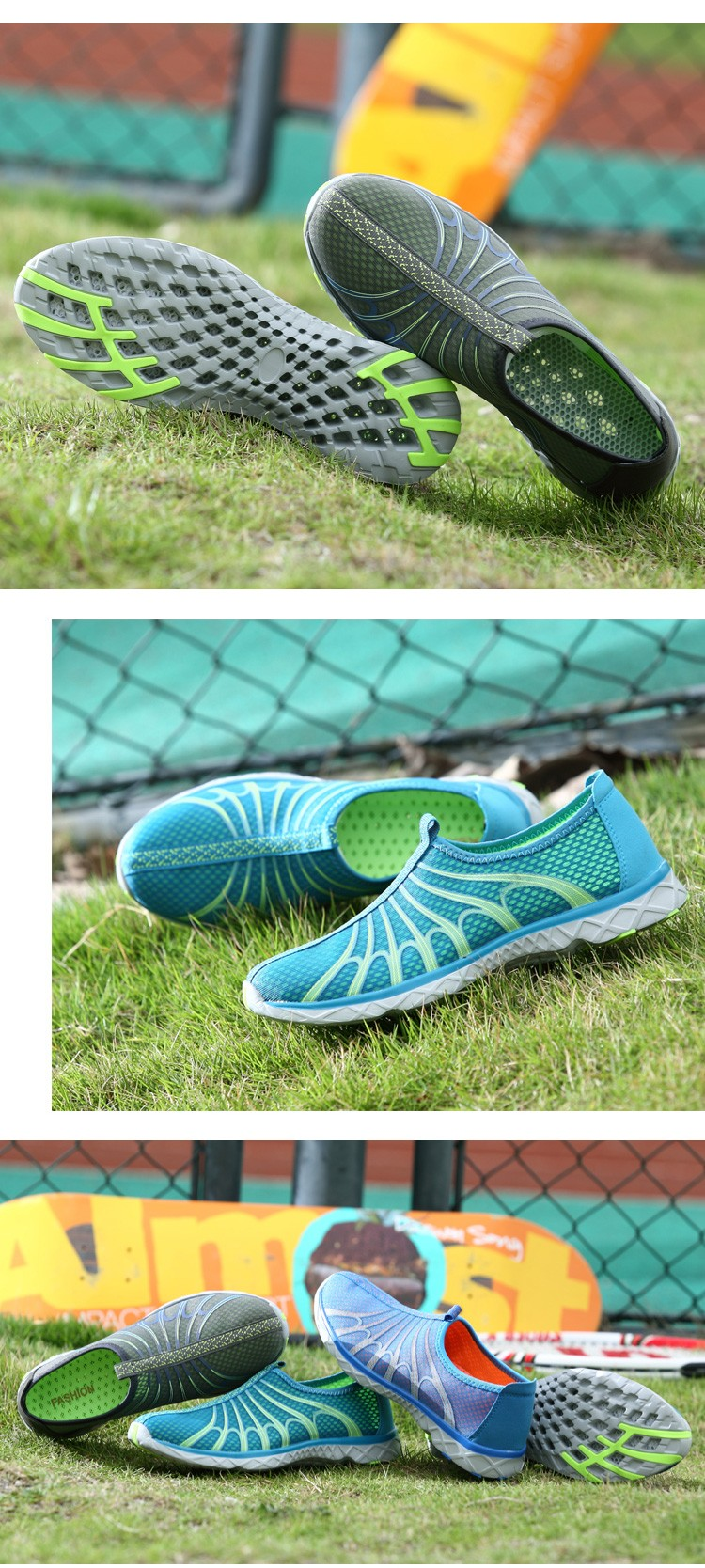 Fashion Aqua Shoes Ultra-light Quick-drying Beach Water River Walking Summer Men Casual Breathable Flotillas Outdoor Shoes Male