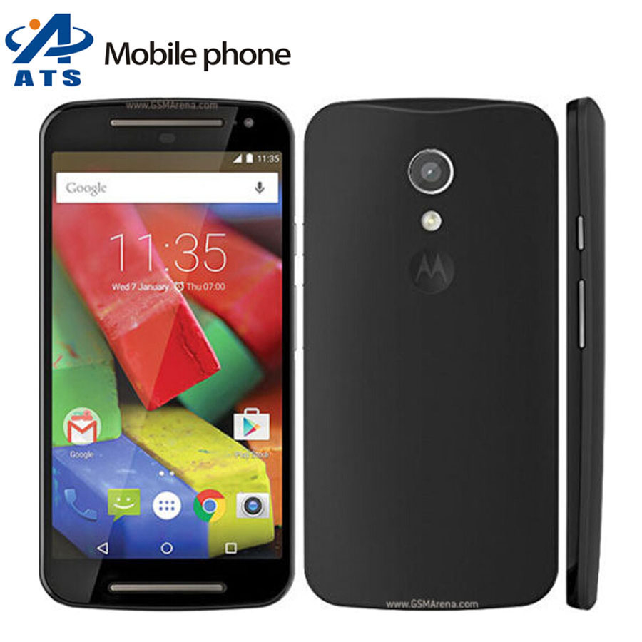 Original Unlocked Motorola Moto G (2nd Gen) G2 XT1064 Mobile phone G+1 XT1068 cell phone Free Shipping(China (Mainland))
