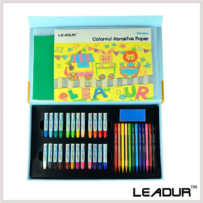 26pcs/set Drawing Set Includes Water Color Pen Colored Pencil Brush Abrasive Paper Art Supplies for Painting Artist Children<br><br>Aliexpress