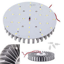 F165mm 2000LM 180 degree 85-265V Warm White Downlight 5630 SMD 20W 32Leds Energy Saving LED Light Source Bulb Lamp Panel(China (Mainland))