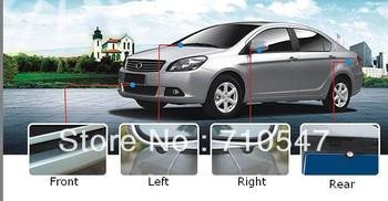 Free shipping 360 degree full view system bird view system car reverse system with 4 cameras