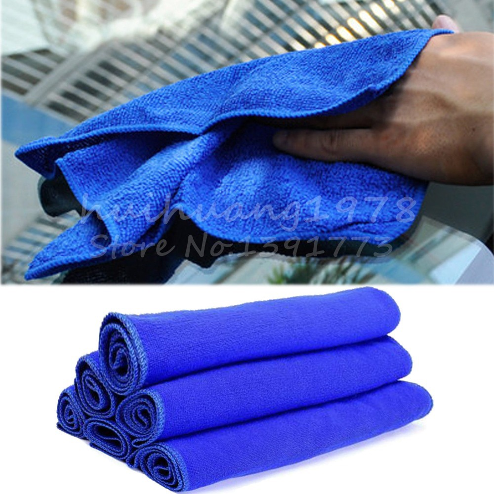 5x Microfiber Deep Plush Car House Cleaning Detail Dry Cloths Towels 70 X 30CM(China (Mainland))